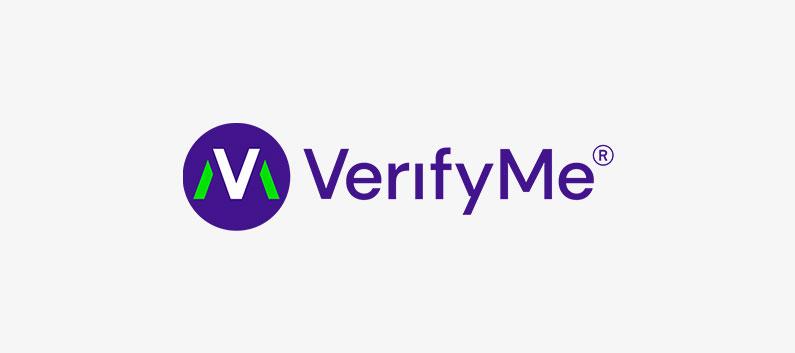 VerifyMe logo